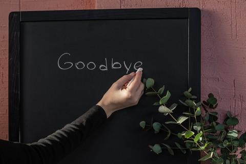 say goodbye to work
